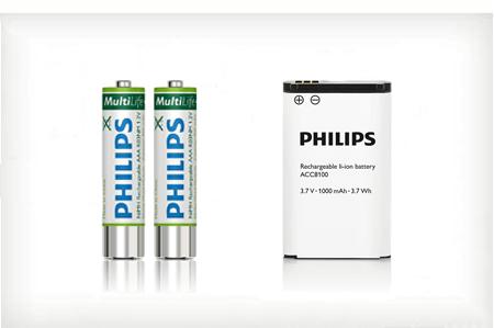 Philips Akkus