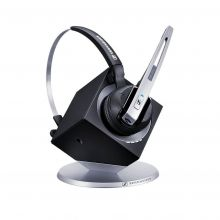 Sennheiser kabelloses Headset DW Office auf Ladestation
