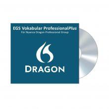 Verpackung des EGS Vokabular ProfessionalPlus für Nuance Dragon Professional Group