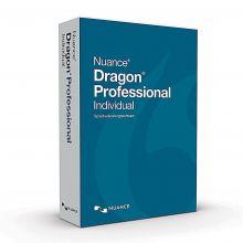 Verpackung der Dragon Spracherkennung Professional Individual 15 von schräg links vorne
